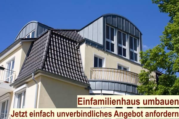 Einfamilienhaus umbauen Berlin - Haus sanieren