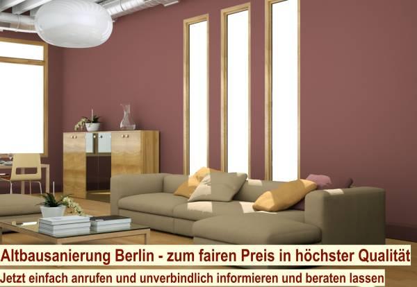 Energetische Sanierung Modernisierung Berlin - Sanierungsarbeiten Altbau Berlin