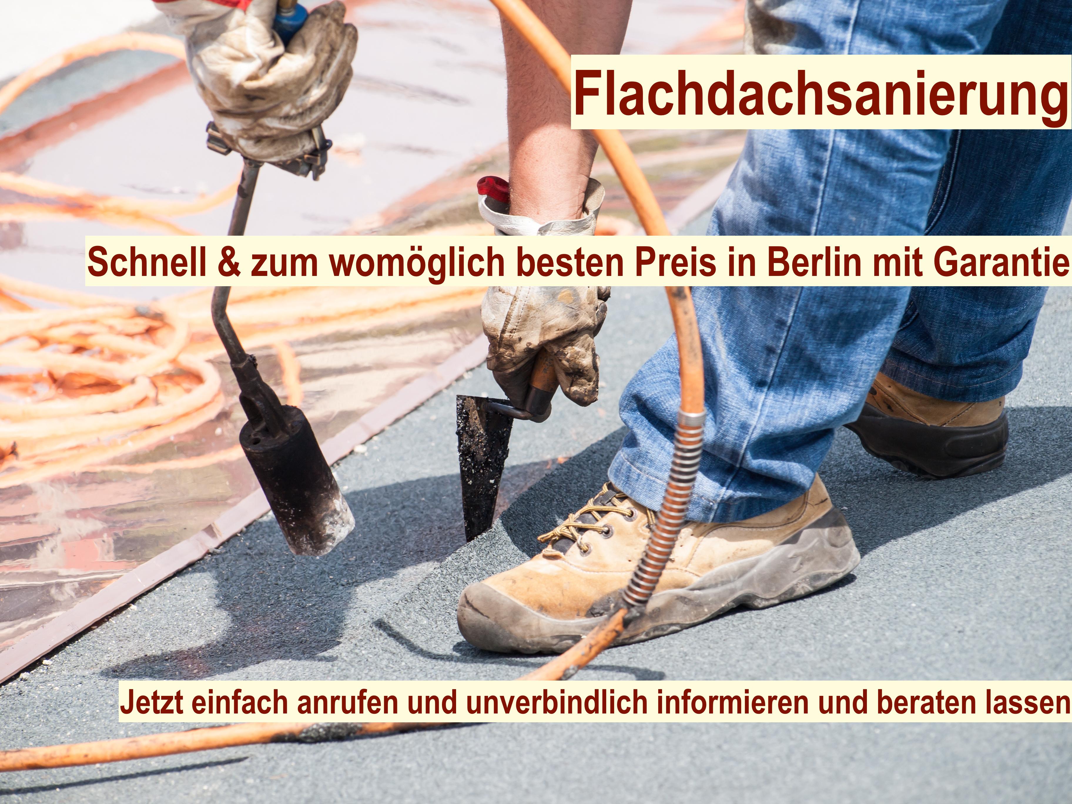 Flachdach sanieren Berlin - Flachdachsanierung