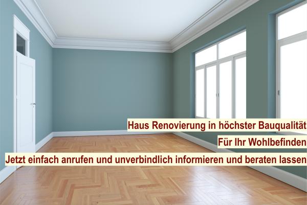 Haus renovieren Berlin - Renovierung