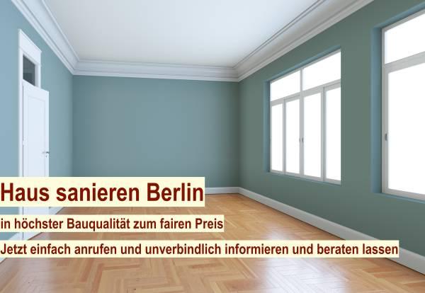 Haus sanieren Berlin - Haussanierung