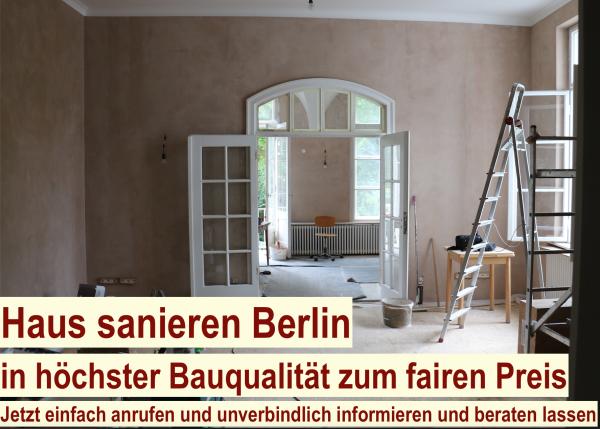 Haus sanieren Berlin