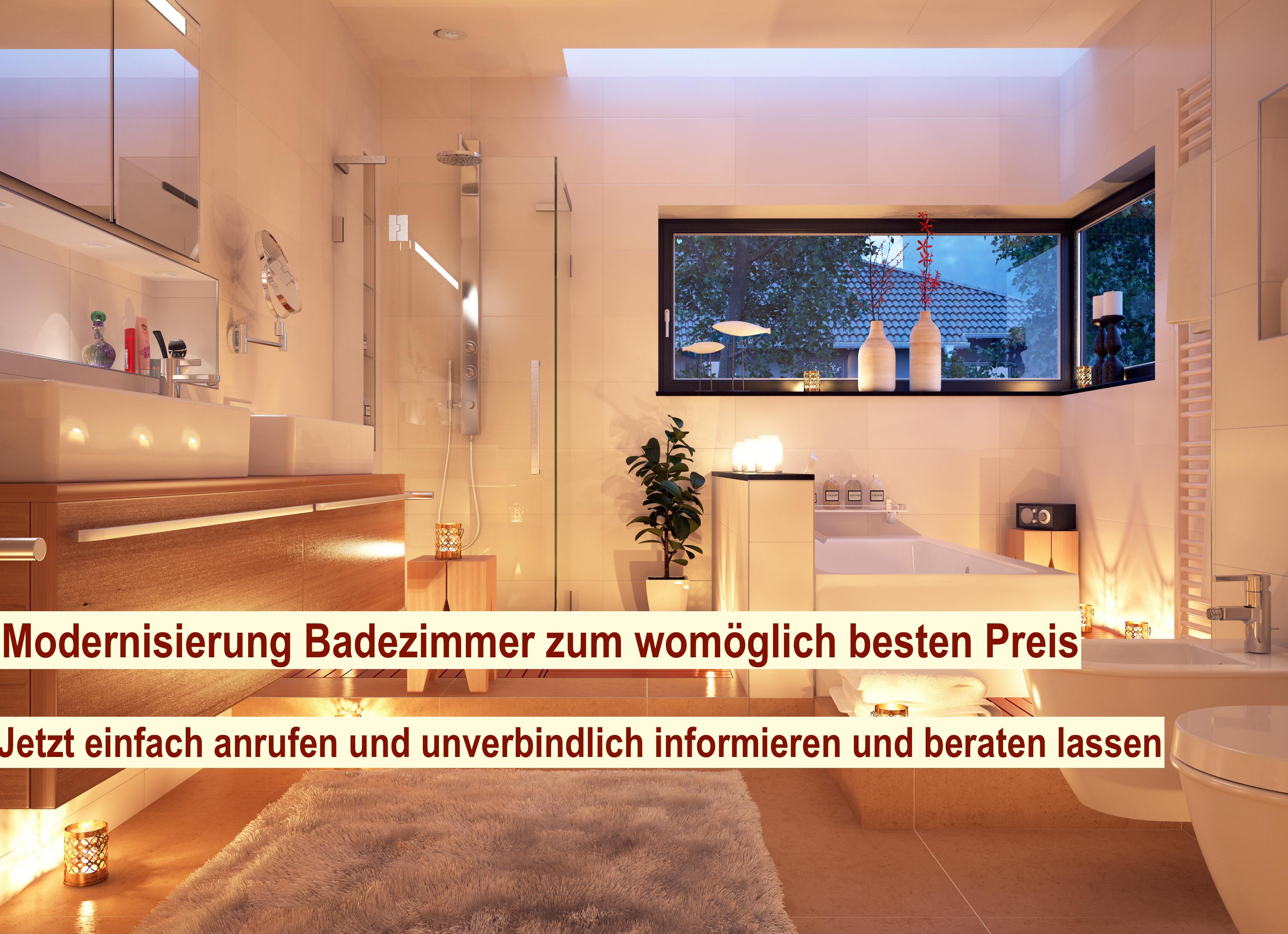 Modernisierung Badezimmer Berlin - Bad modernisieren