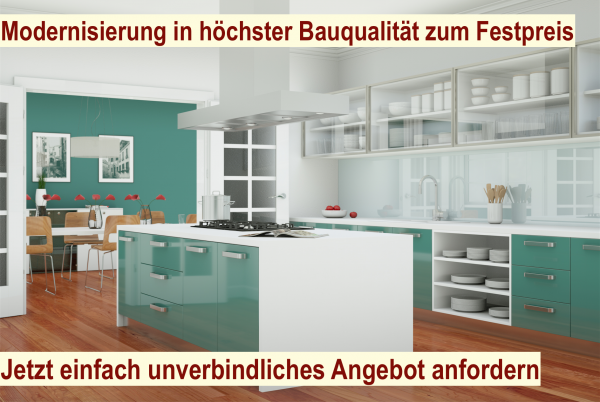 Modernisierung Berlin - Haus modernisieren