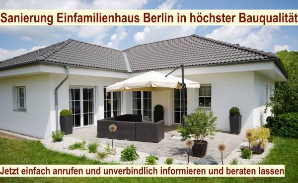 Modernisierung Haus Berlin