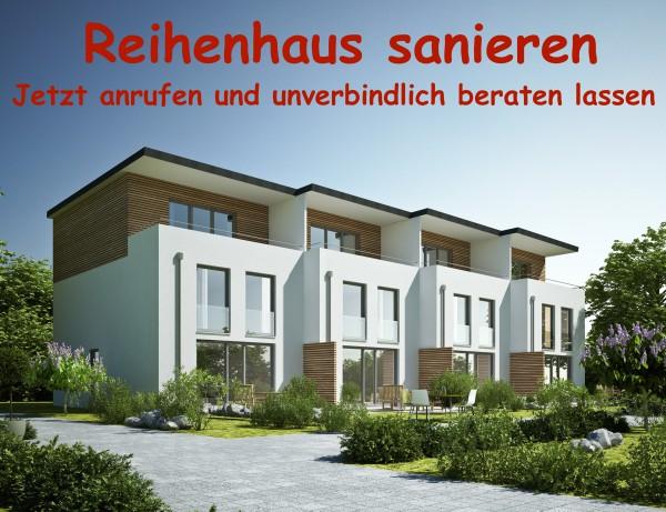 Reihenhaus sanieren sanierung berlin modernisierung for Reihenhaus bauen