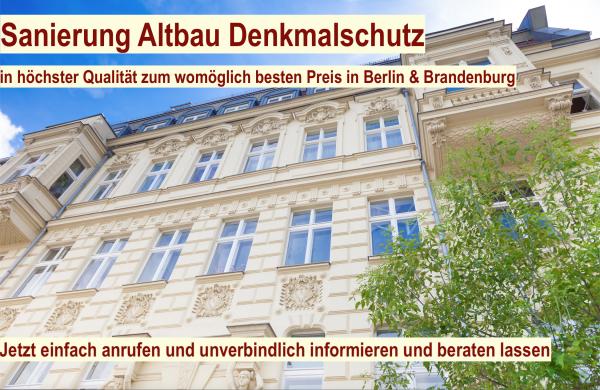 Sanierung Altbau- Denkmalschutz Berlin